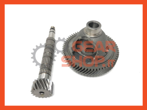 COPPIA CONICA MINI MIDLAND GS5-65BH, COPPIA CONICA 16 DENTI, MINI ONE, RICAMBIO, MINI PARTS, SECONDARY SHAFT, GEARBOX MINI MIDLAND